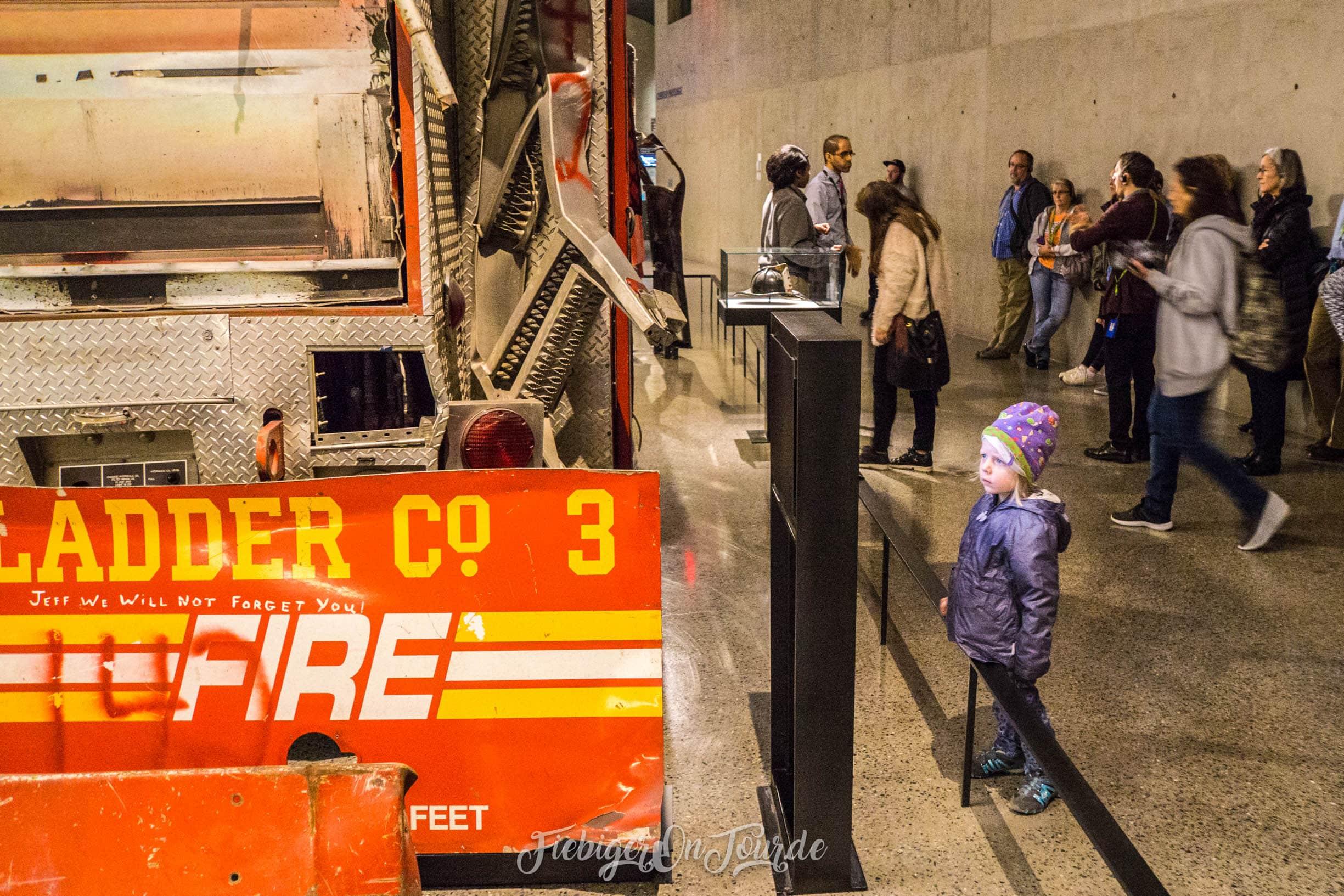 9/11 Museum - Feuerwehr
