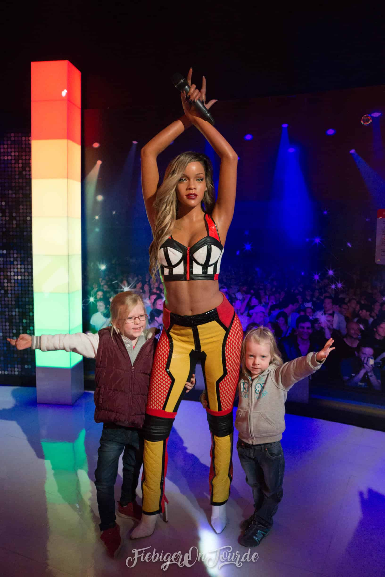 Rihanna in Madame Tussauds