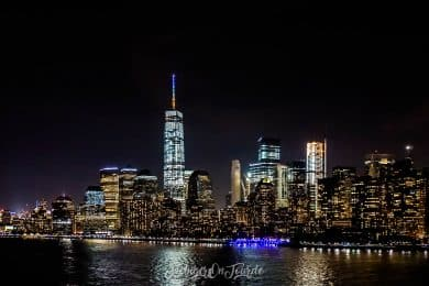 WTC Night Skyline