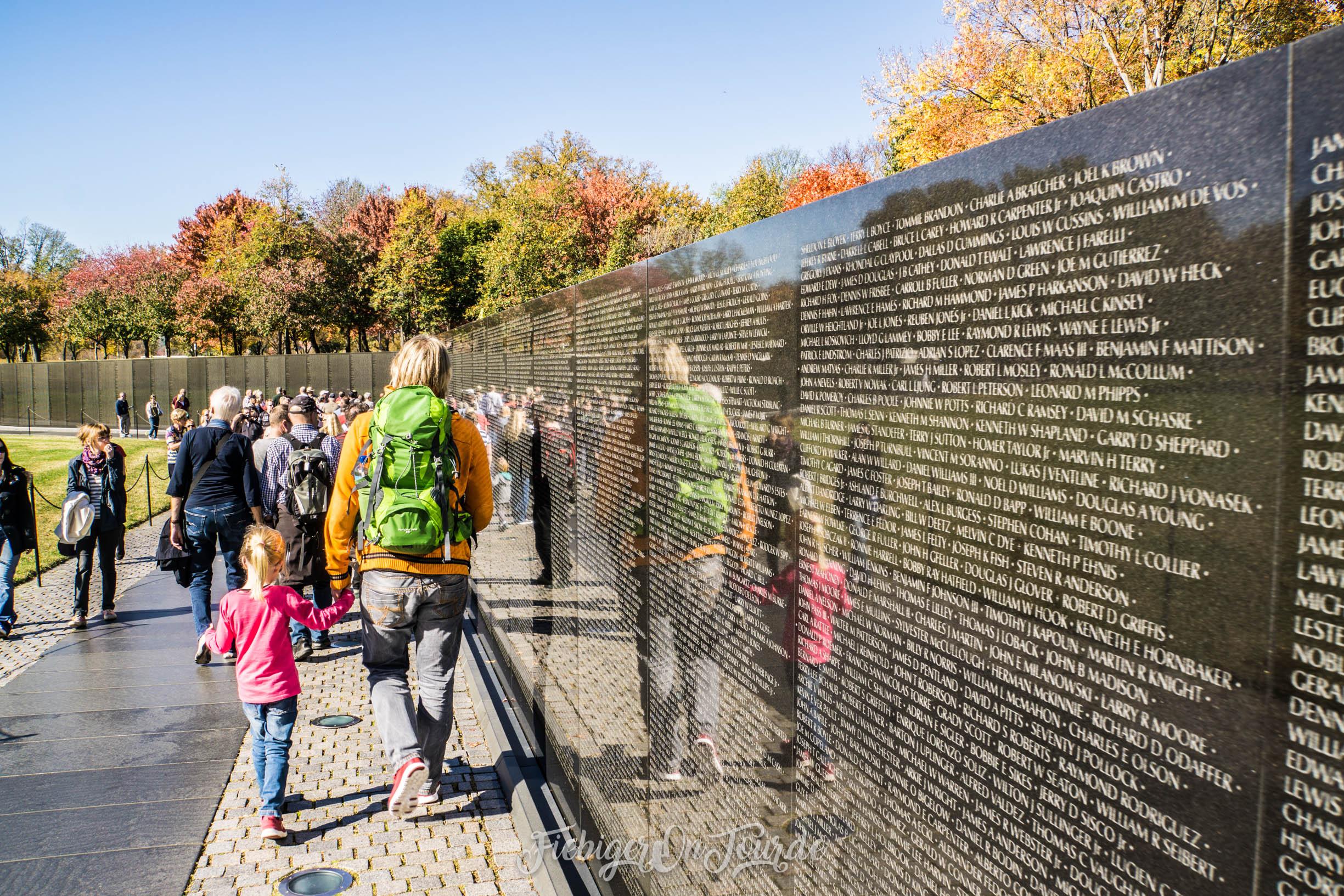 Vietnam Veterans Memorial Gedenktafel