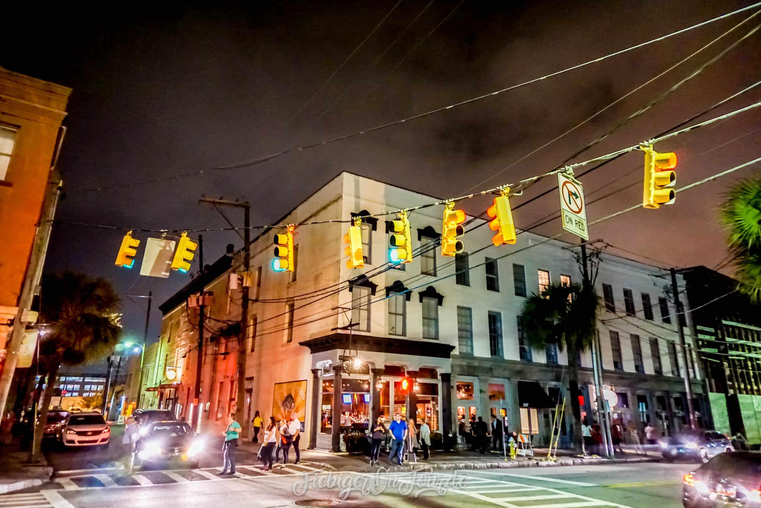 Charleston bei Nacht